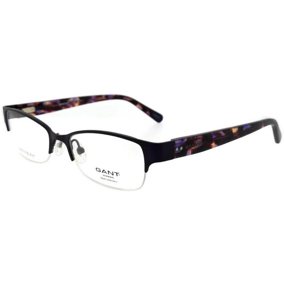 1fe44a507c1 GAA387-082-48 Womens Violet Frame Clear Eyeglasses. NWT. Gant